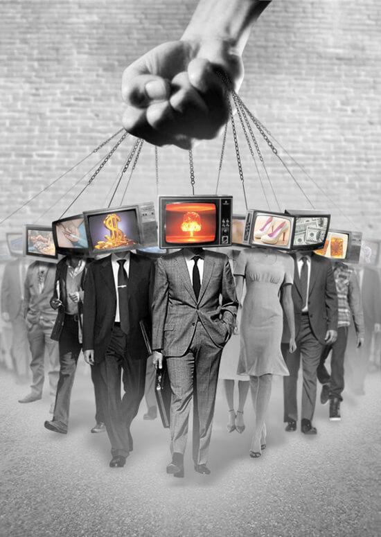 влияние телевидения на человека