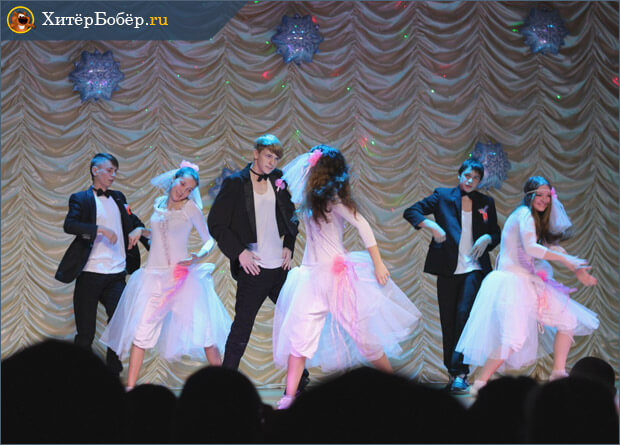 Выступления студии танцев