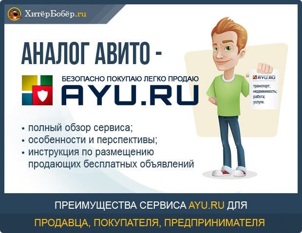 Обзор сервиса AYU.ru