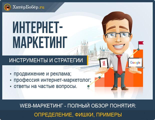 Что такое интернет-маркетинг - полный обзор понятия