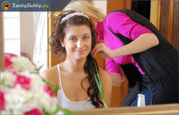 Оказаниу услуг парикмахера-как-работа для мам в декрете