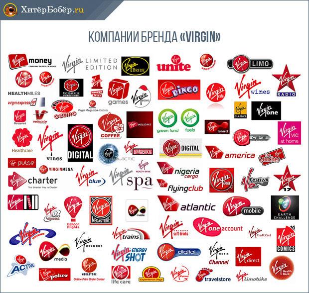 Компании Бренда Virgin