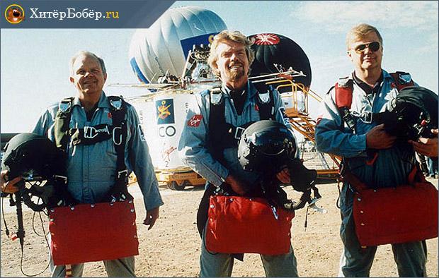 Полет Брэнсона на воздушном шаре