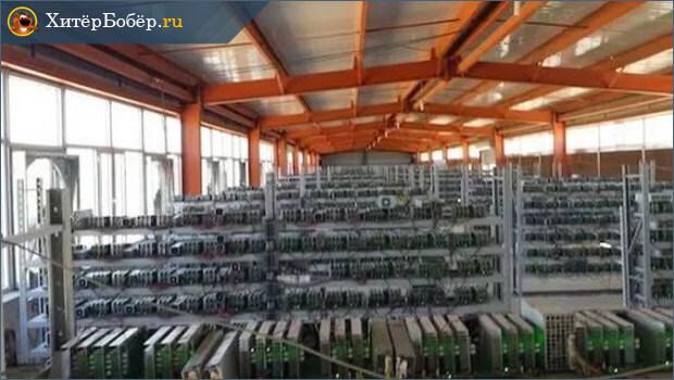 Промышленная майнинг ферма