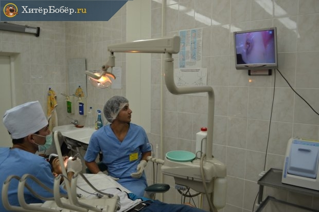 Интерн-стоматолог на практике