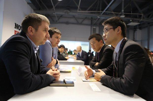 Переговоры с китайскими бизнесменами