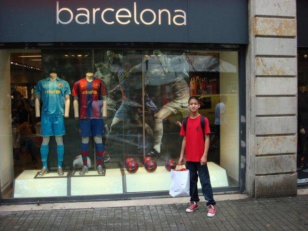 Магазин спортивных товаров «Барселона»
