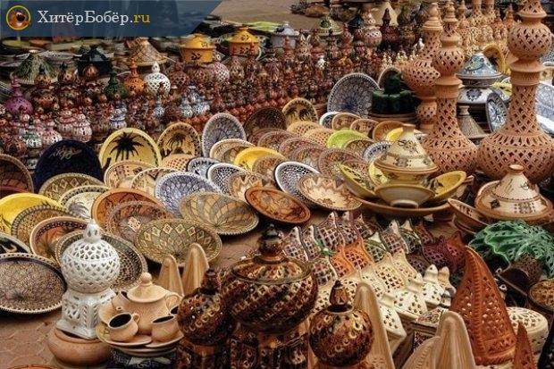 Сувенирная лавка в Тунисе
