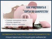 Как участвовать в торгах по банкротству и заработать