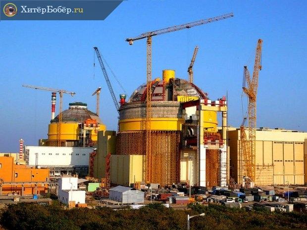 Строительство АЭС в КНР