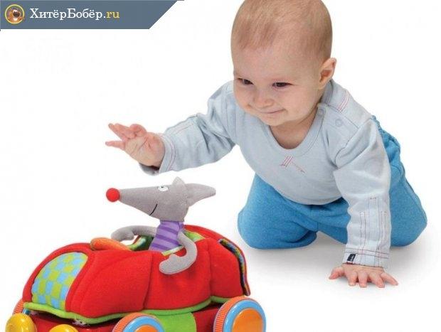 Детская игрушка и ребёнок