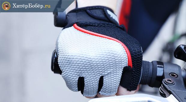 Перчатки с подсветкой для велосипедиста
