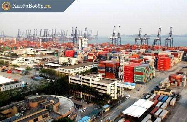 Китайский порт