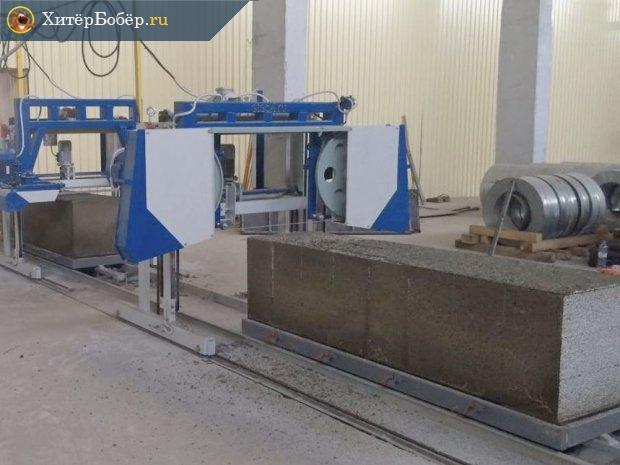 Мини-завод по производству пеноблоков из Китая