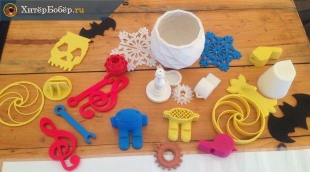Игрушки, изготовленные на 3D-принтере
