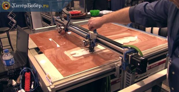 Процесс 3D-печати методом 3D Printing