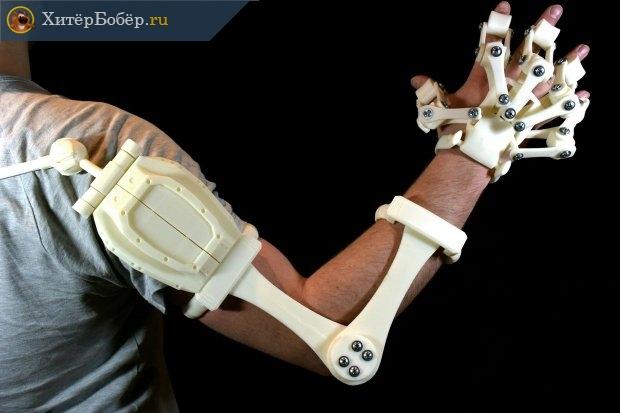 Протез руки, напечатанный на 3Д-принтере