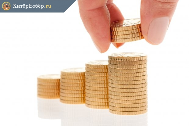 Стопки монет