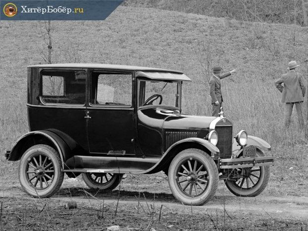 Один из первых автомобилей «Форд»