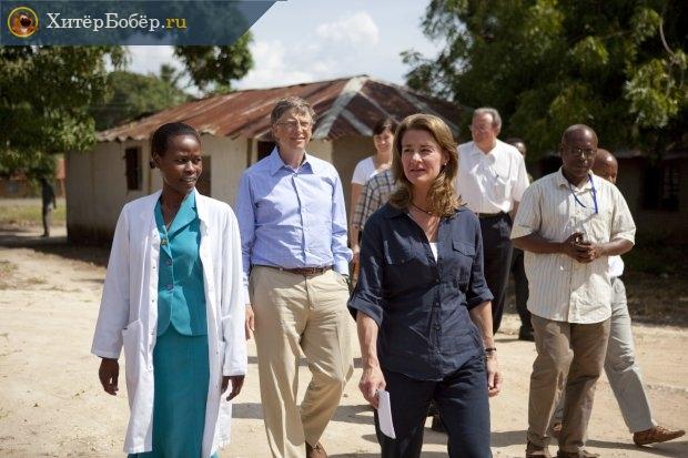 Билл и Мелинда Гейтс в Африке