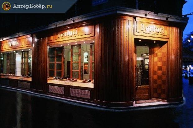 Магазин Berluti в Париже