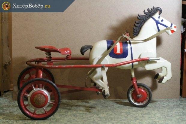 Игрушечная педальная лошадка