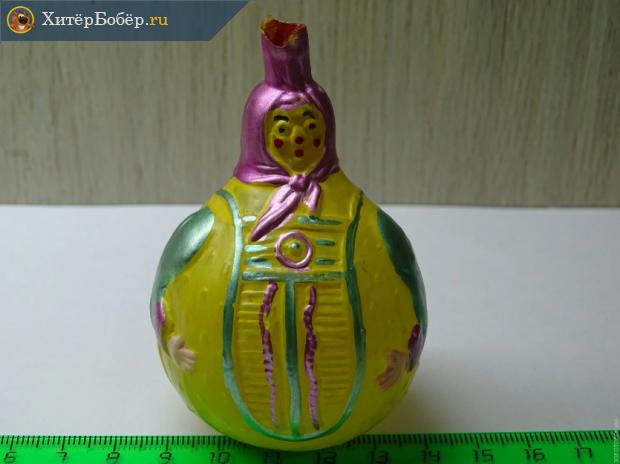 Ёлочная игрушка «Баба-лимон»
