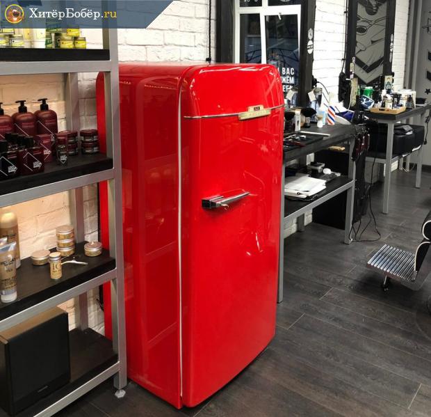 Советский холодильник в интерьере