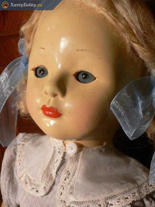 Голова куклы из пресс-опилок