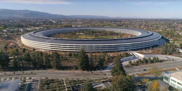 Футуристический Apple Campus