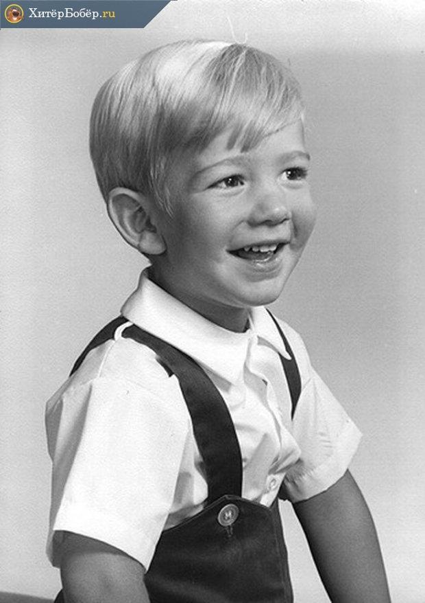 Джефф Безос в детстве