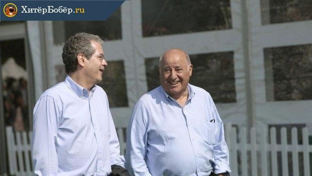 Пабло Исла и Амансио Ортега