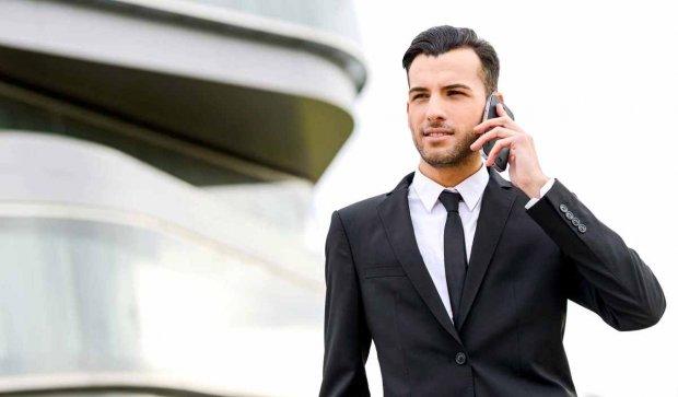 Бизнесмен договаривается о встрече