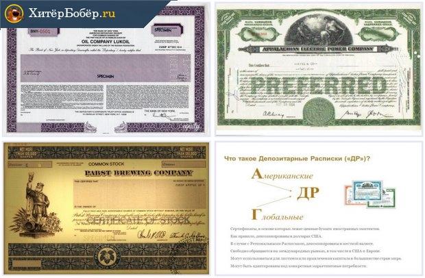ADR — американская депозитарная расписка