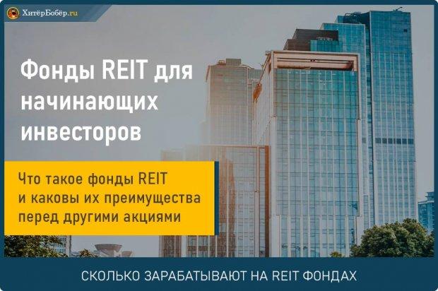 REIT фонды недвижимости